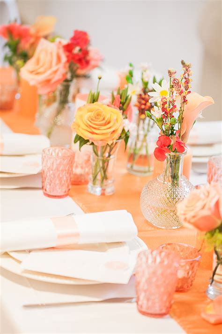 Tischdeko Verlobungsfeier by Sommerliche Tischdeko In Und Orange