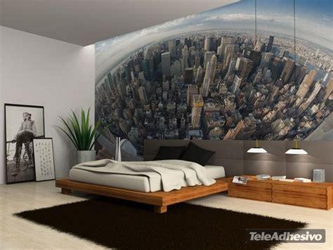 schlafzimmer new york style fotomurales new york eye mural once wanddesign