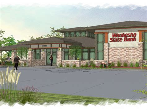 Whitefish Bay Post Office by Waukesha State Bank Breaks Ground For New Brookfield Site