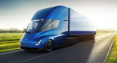 All Electric Tesla All Electric Tesla Semi Priced From 150 000