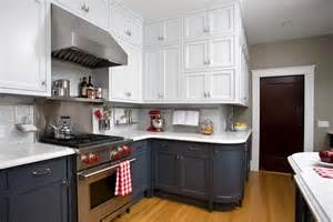 Two Tone Kitchen Cabinet Ideas Stupefying Two Tone Kitchen Cabinets Pictures Decorating