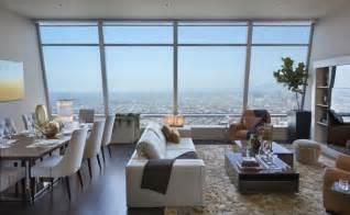 Luxury los angeles penthouse apartment interior