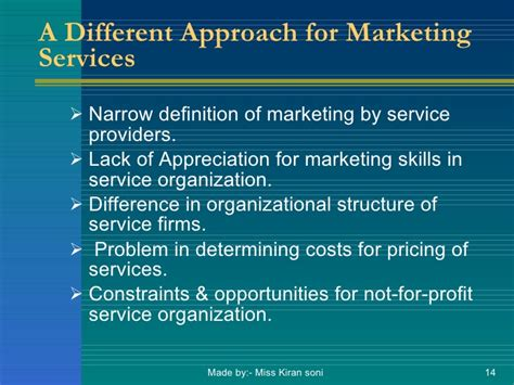 Mba Means Assurance Of by Mba Unit1 Marketing Of Services