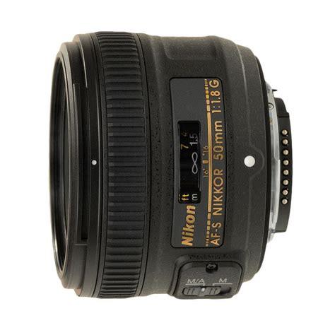 Lensa Nikon Af S 50mm F 1 8g Nikkor Fx jual best deal 11 nikon af s 50mm f 1 8g lensa kamera harga kualitas terjamin