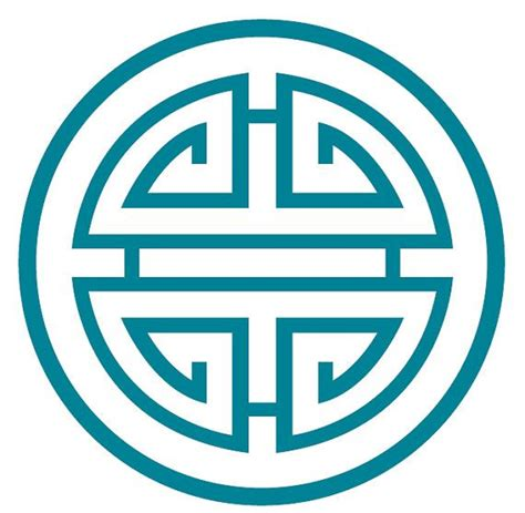 the vs the south wealth luck and fortune on teal wealth prosperity luck symbol modern design by