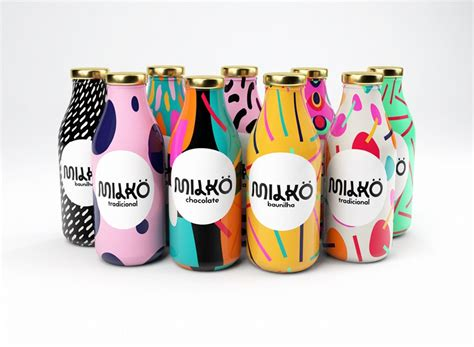 milk design greece take a look at this colorful milk packaging design