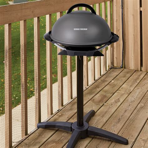 george foreman 240 quot indoor outdoor electric grill non