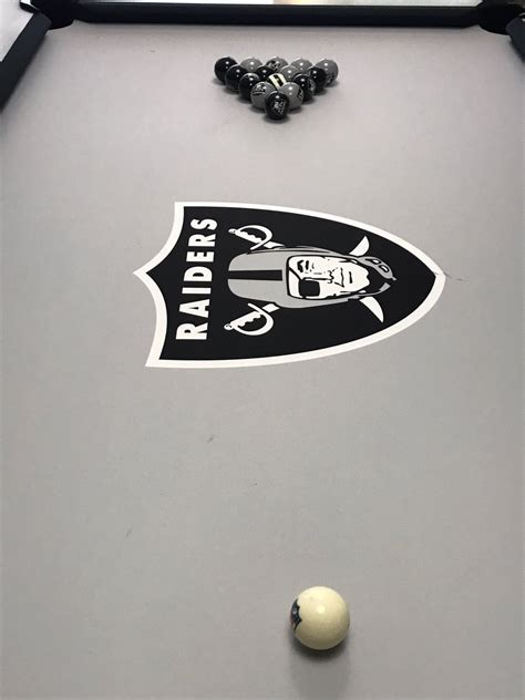 tiger woods shows off new raiders pool table and billiard