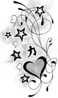 heart n stars tattoo designs tattoobite com