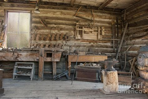 Small Cabins Plans by Interior Of Historic Pioneer Cabin Photograph By Juli Scalzi