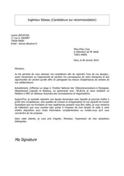 Exemple De Lettre De Demande De Vacation Modele Lettre De Motivation Orange Document