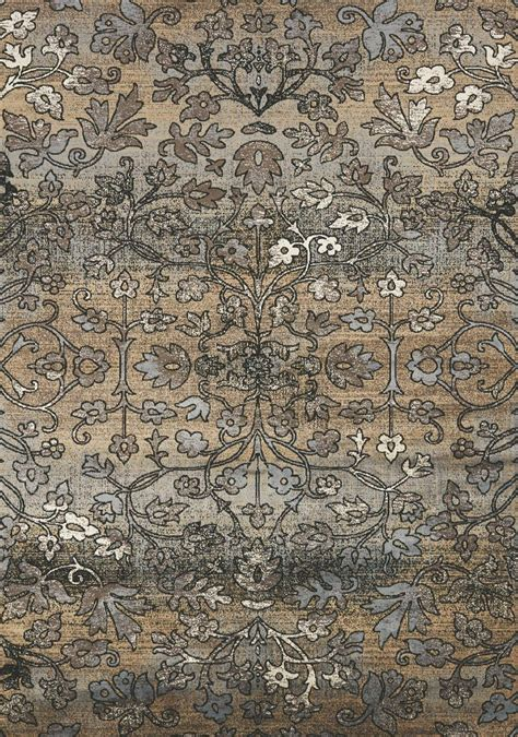 cloth rug antika intricate flowers 79 quot floor cloth rug from kalora f645 131 200300 coleman furniture