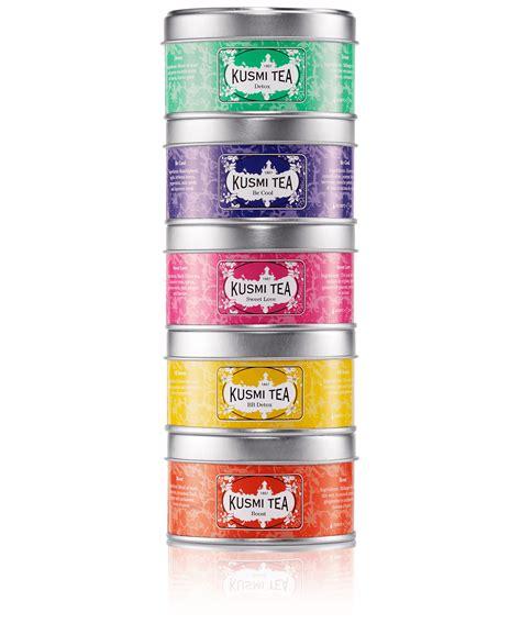 Thé Detox Kusmi Tea by Wellness Teas Assortment Kusmi Tea