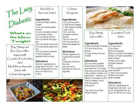diabetic dinner menu the lazy diabetic