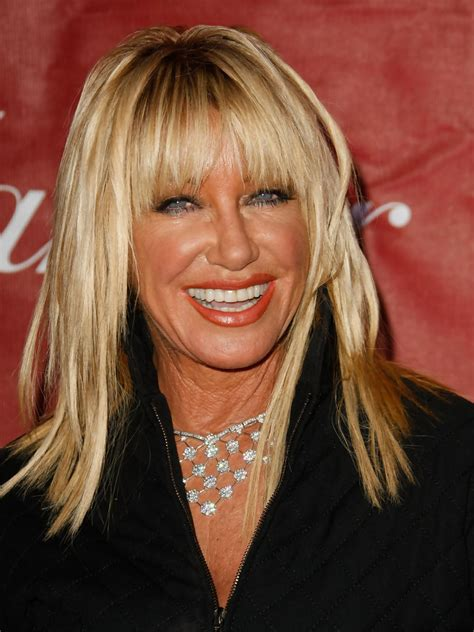 does suzanne somers have thin hair suzanne somers in 2009 palm springs international film