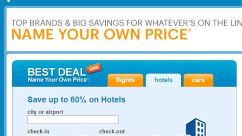 priceline eliminates name your own price for airline tickets travelpulse