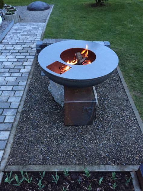 aufsatz feuerschale outdoor kochstelle feuerschale grillring mein projekt