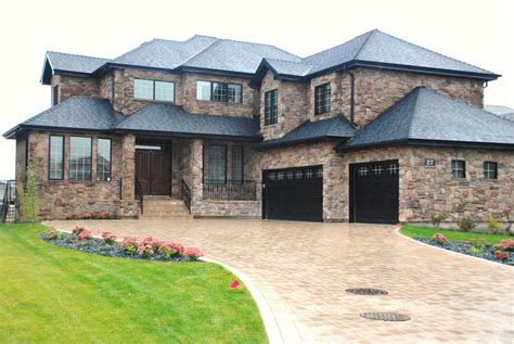 stone siding houses houses with stone veneer natural textures houz buzz