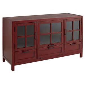 Home Design Imports Furniture Sausalito Medium Tv Stand Antique Red Cast Iron Home