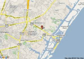 map of hton inn and suites wilmington wrightsville