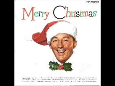 bing crosby jingle bells bing crosby and the andrews sisters quot jingle bells quot youtube