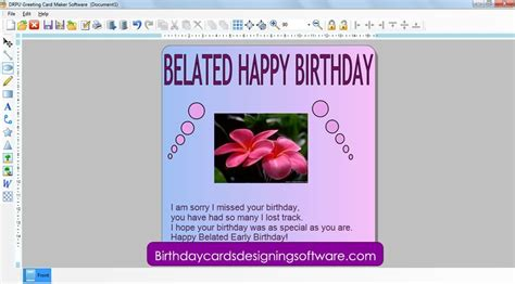 Birthday Card Maker Christmas Card Creator Holliday Decorations