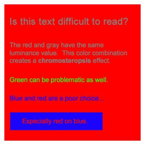 fitekker: bad color combinations