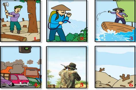 apa saja kegiatan manusia yang merusak lingkungan itu