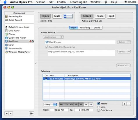 Audio Hijack Records Any Audio On Your Mac Including Itunes by Hijack Audio Pro