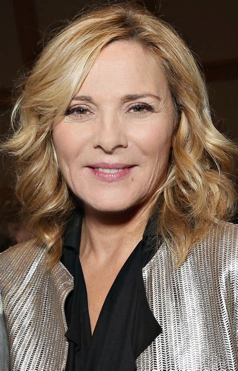 kim cattrall kim cattrall reveals she was quot scared quot to play samantha on