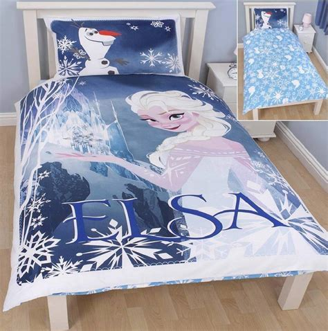 Disney Duvet disney frozen elsa olaf bedroom bedding duvet covers new official ebay