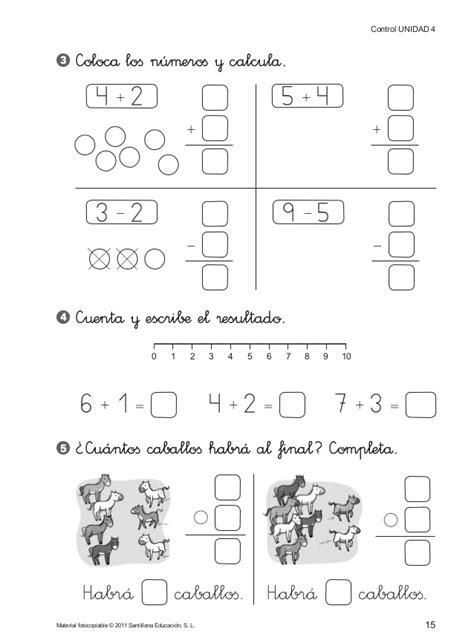 evaluaciones de matematicas 1 186 de primaria