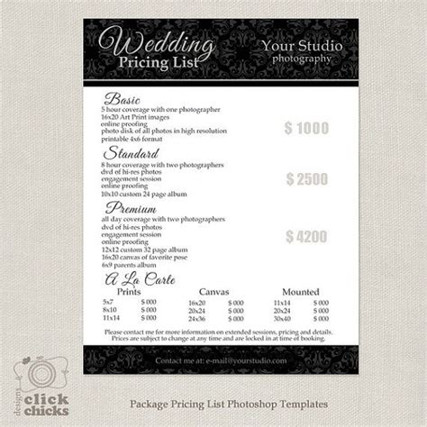 25 best wedding photography contract ideas on pinterest