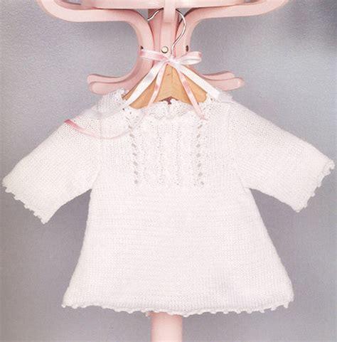 baby jurk breien patroon brei en haakpatroon tuniek jurkje