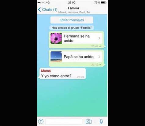 imagenes whatsapp comicas 19 conversaciones muy graciosas por whatsapp entre padres