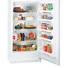 kenmore   cu ft top freezer refrigerator white