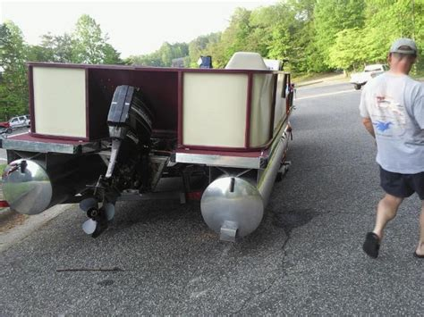 boat crash in topic m and m bass buggy rebuild pontoon forum gt get help