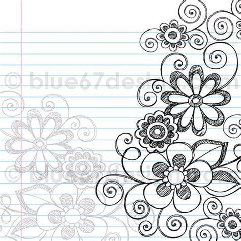 flower doodle free de 25 bedste id 233 er inden for doodle flowers p 229