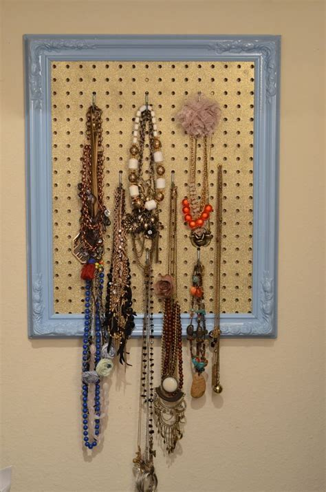 diy pegboard 25 cool diy ideas for making a jewelry holder guide patterns