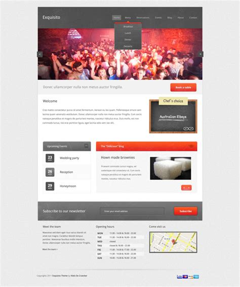 Event Calendar Template For Website by Archives Culturefilecloud