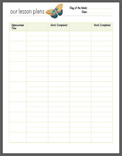 homeschool lesson plan calendar a free charlotte mason homeschool planner my humble kitchen