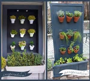 Vertical Herb Garden Diy 20 Creative Diy Vertical Gardens For Your Home
