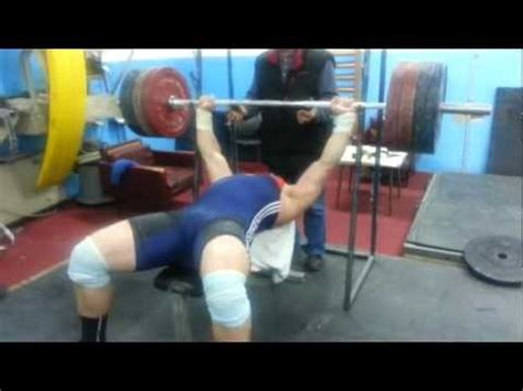 igor lukanin 200kg bench press all things gym