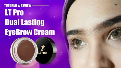 cara membuat alis menggunakan eyebrow cara membentuk alis dengan lt pro dual lasting eyebrow