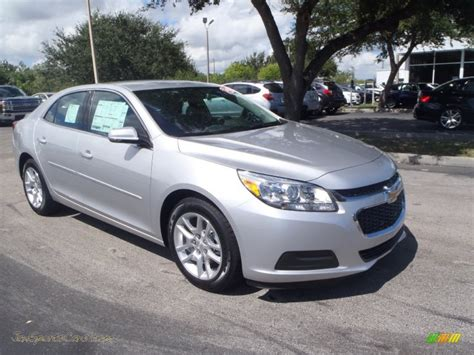 Silver And Black Ls by 2014 Chevrolet Malibu Ls In Silver Metallic 114875