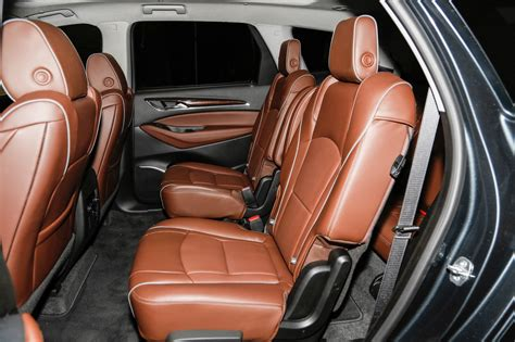 buick enclave second row bench seat 2018 buick enclave avenir first look redesigned flagship