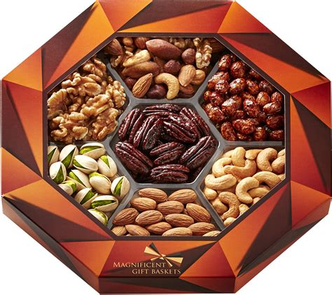 holiday gourmet food nuts gift basket 7 different nuts five star gift baskets baskets gourmet food nuts gift basket 7 different delicious nuts ebay