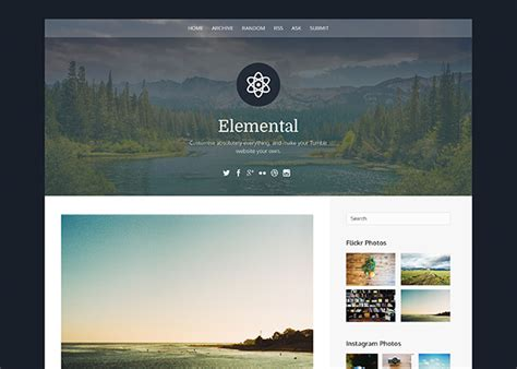 themes tumblr free 2016 30 most beautiful free tumblr themes 2016 see the list