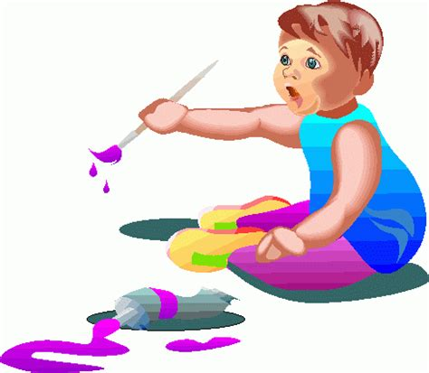 painting for toddlers free children painting clip cliparts co