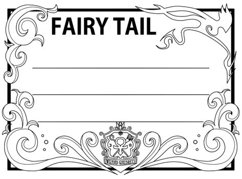 fairy tail guild card template 1 by flaminblue on deviantart